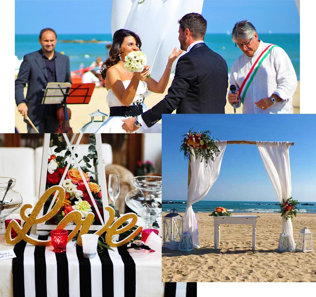 Matrimonio In Spiaggia Nelle Marche : Matrimonio in spiaggia a san benedetto del tronto grand